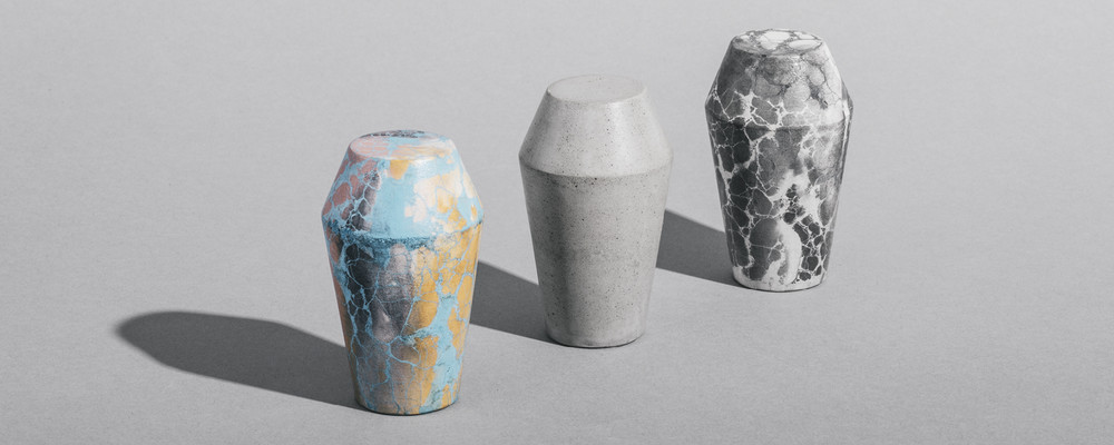 Monolith Concrete Shift Knobs by Sophie Dries & Concrete Cat - © Garagisme